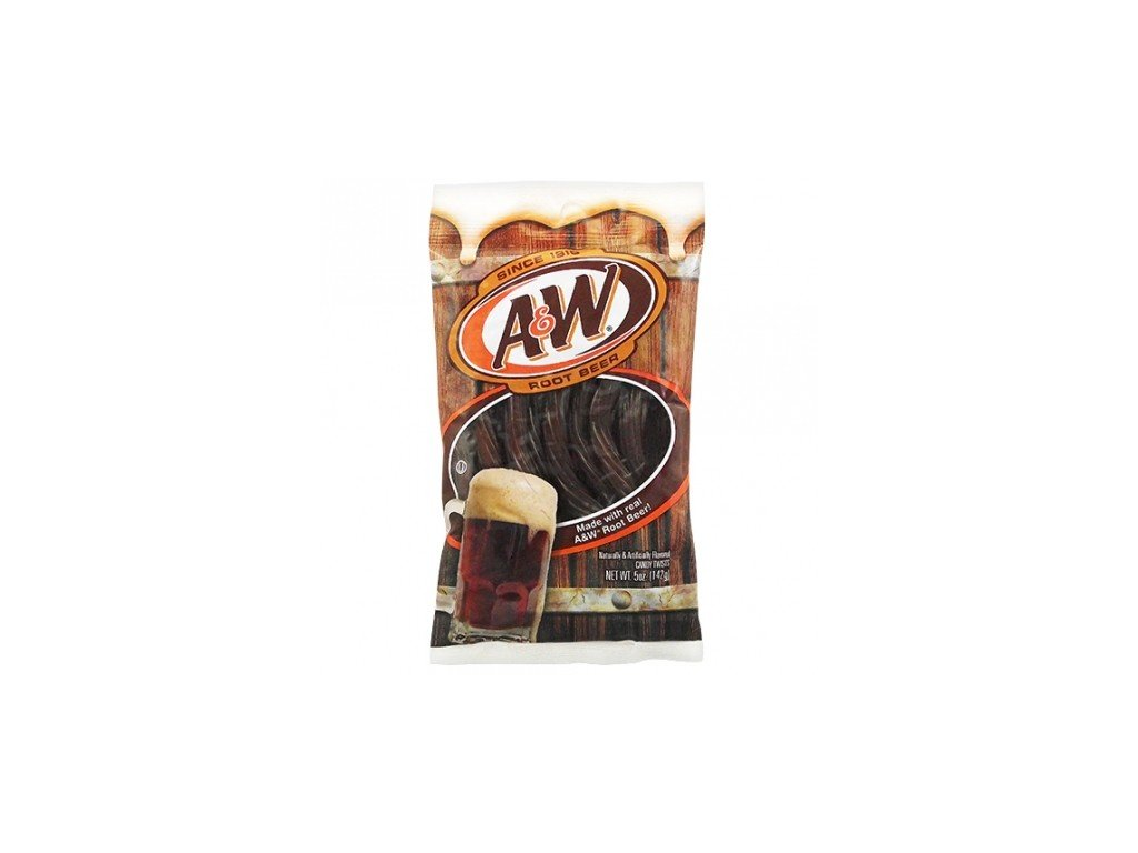 Kenny's A&W Root Beer Juicy Twists 142g