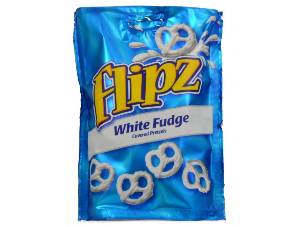 Flipz Pretzels White Fudge 141g