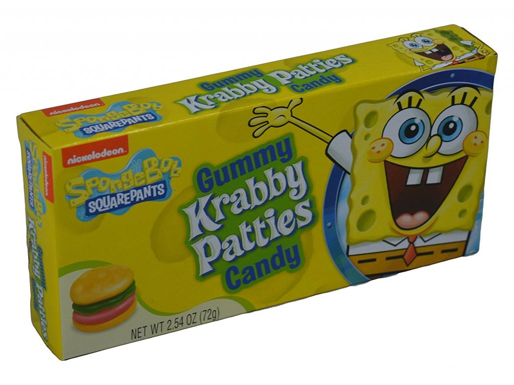 Spongebob Squarepants Gummies 72g