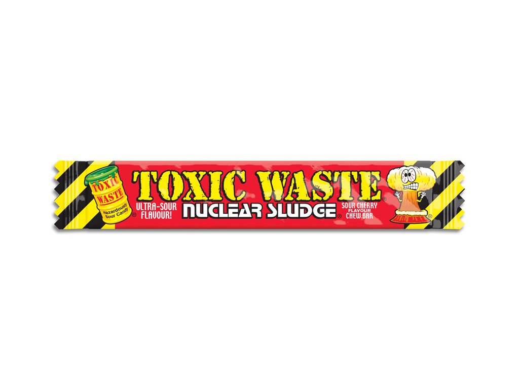 Toxic Waste Nuclear Sludge Chew Bar Sour Cherry 20g