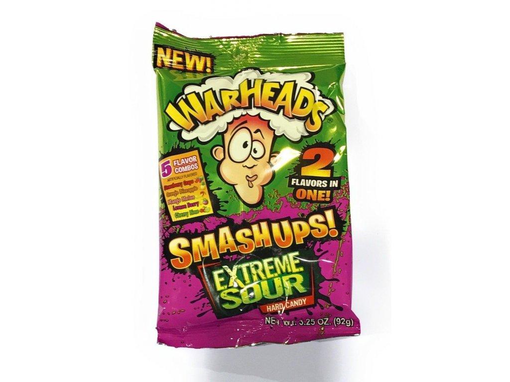 Warheads Extreme SmashUps Hard Candy 92g