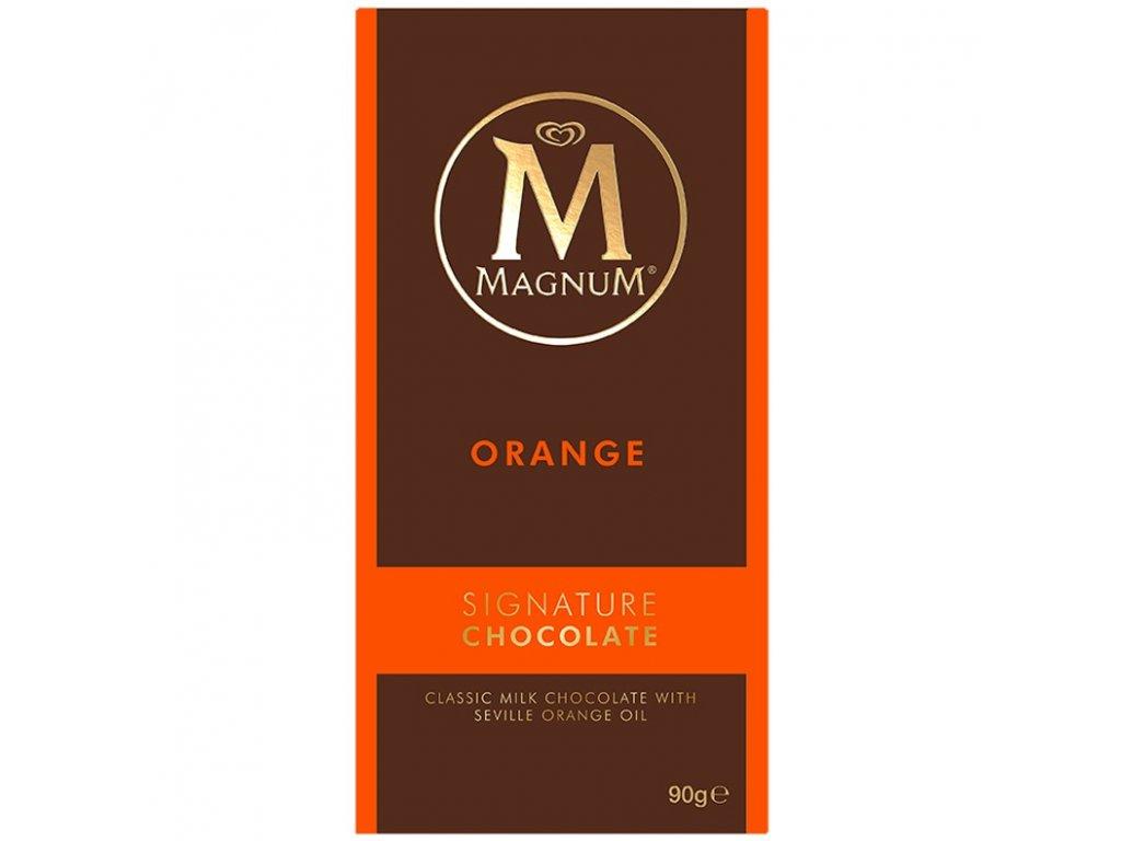 Magnum Milk Chocolate with Orange 90g