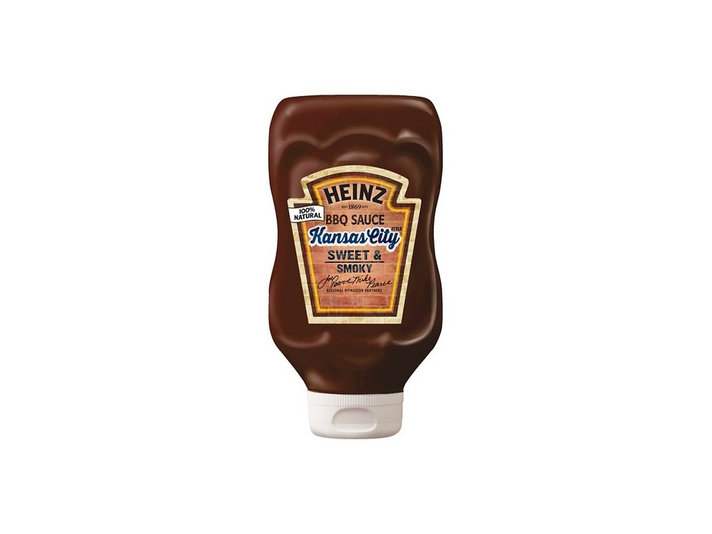 Heinz Kansas City Sweet & Smoky BBQ 572g