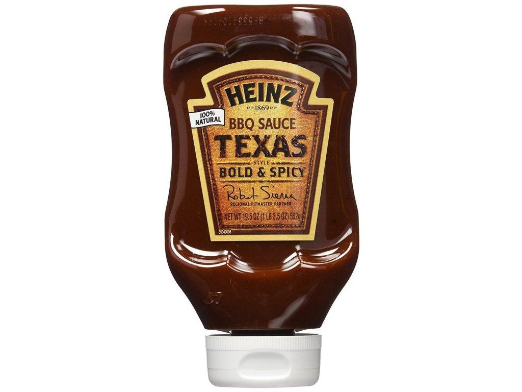 Heinz Texas Bold & Spicy BBQ 552g