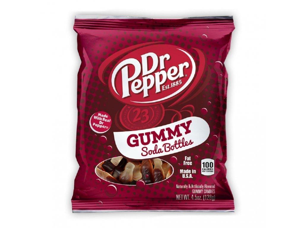 Dr Pepper Gummy Soda Bottles 127g