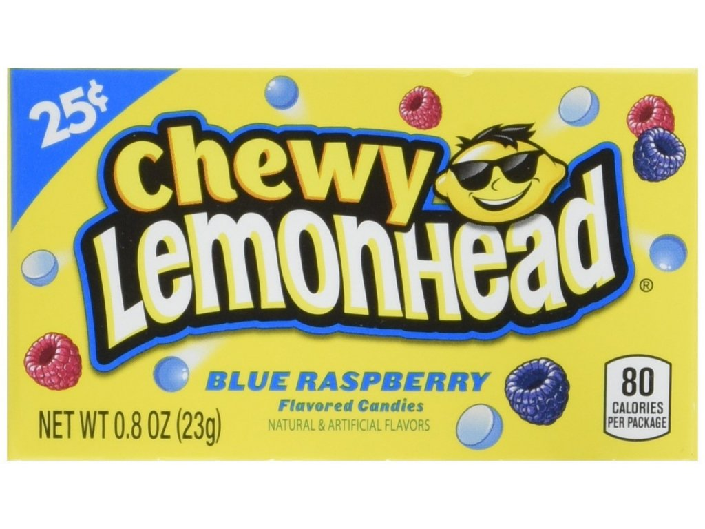Chewy Lemonhead Blue Raspberry 23g
