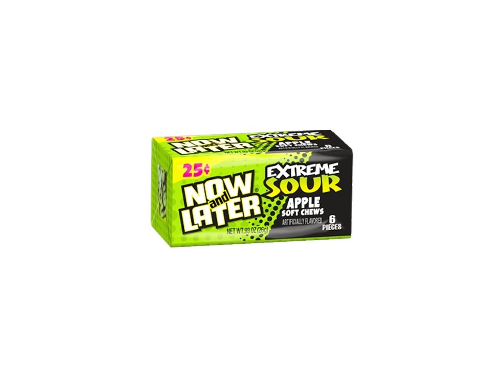 Now & Later Extreme Sour Apple 26g