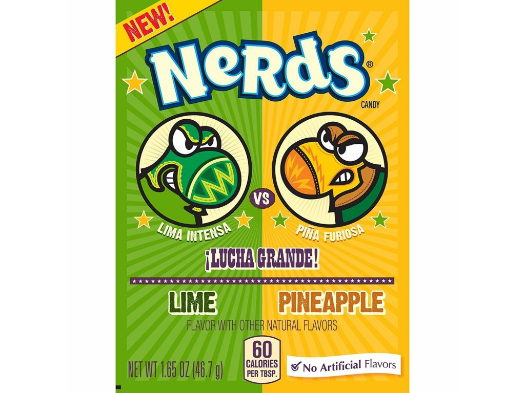 Wonka Nerds Lime & Pineapple 46.7g