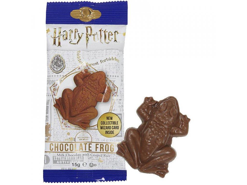 Harry Potter čokoládová žába se sběratelskou čarodějnickou kartou 15g