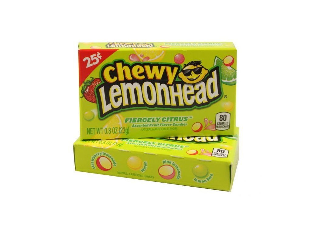 Chewy Lemonhead Fiercely Citrus 23g