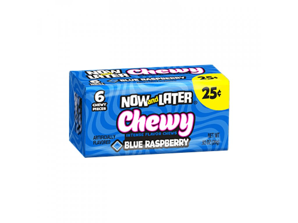 Now & Later Blue Raspberry 26g