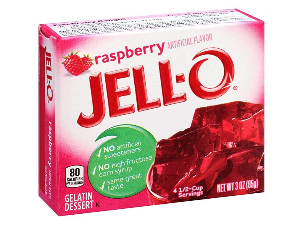 Jello Raspberry 85g