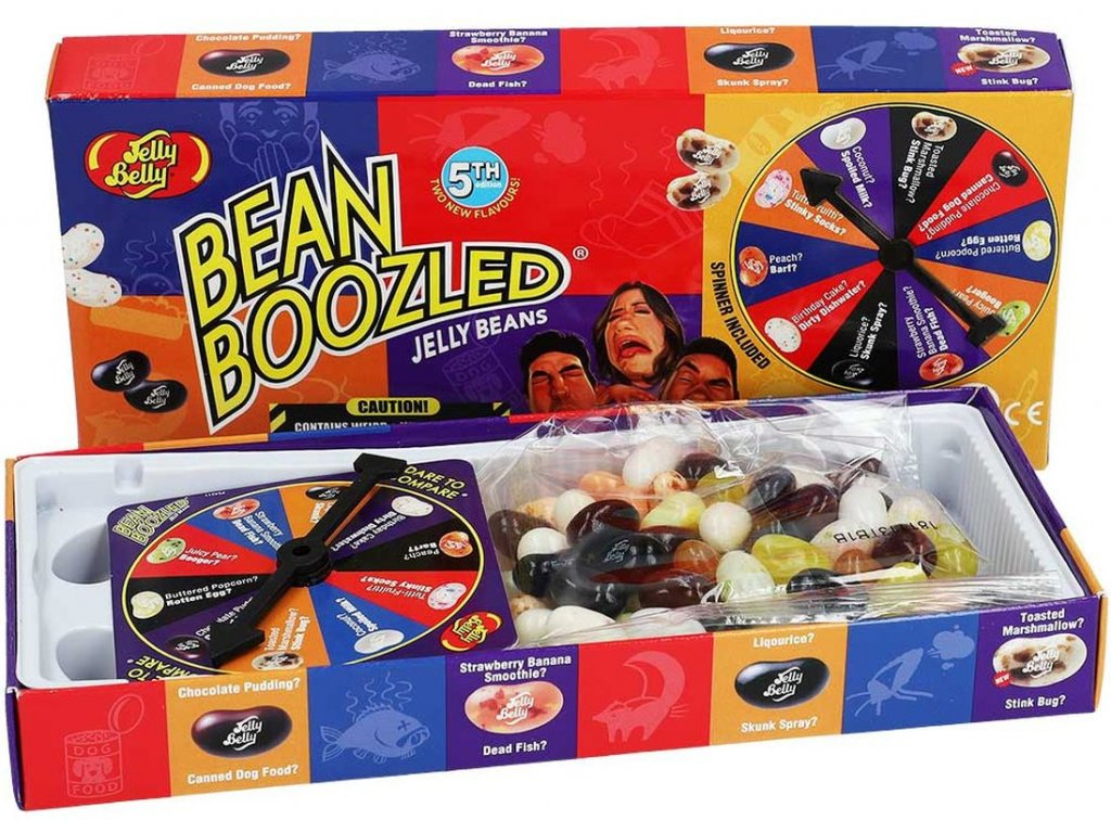 Jelly Belly Jelly Beans Bean Boozled ruleta dárkový BOX