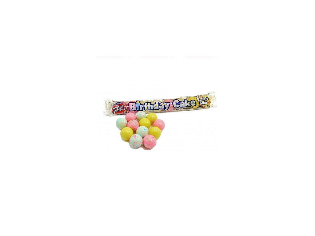 Dubble Bubble Birthday Cake Gum Balls 62g