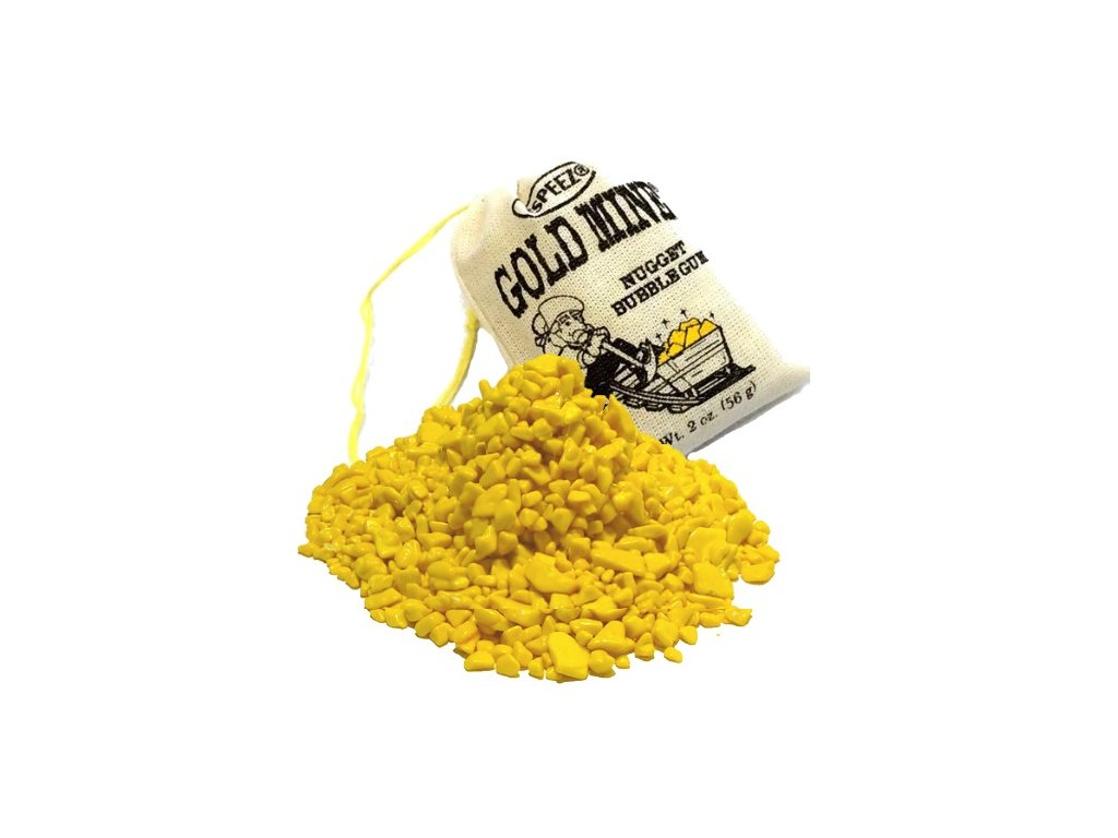 Espeez Gold Mine Nugget Bubble Gum 56g