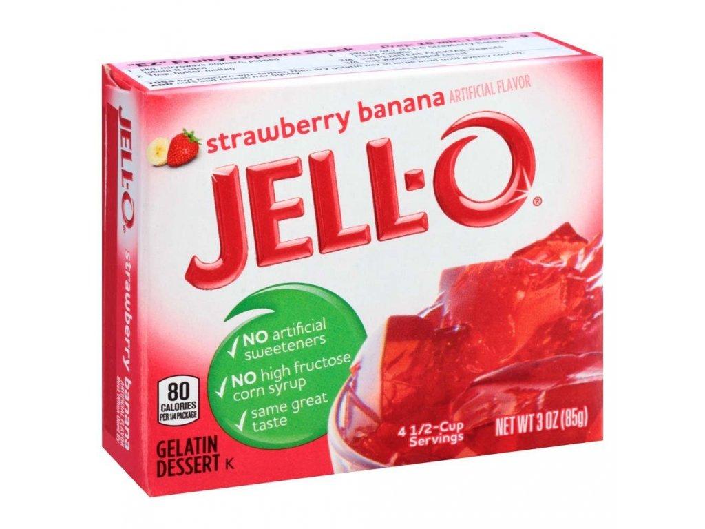 Jello Strawberry Banana 85g