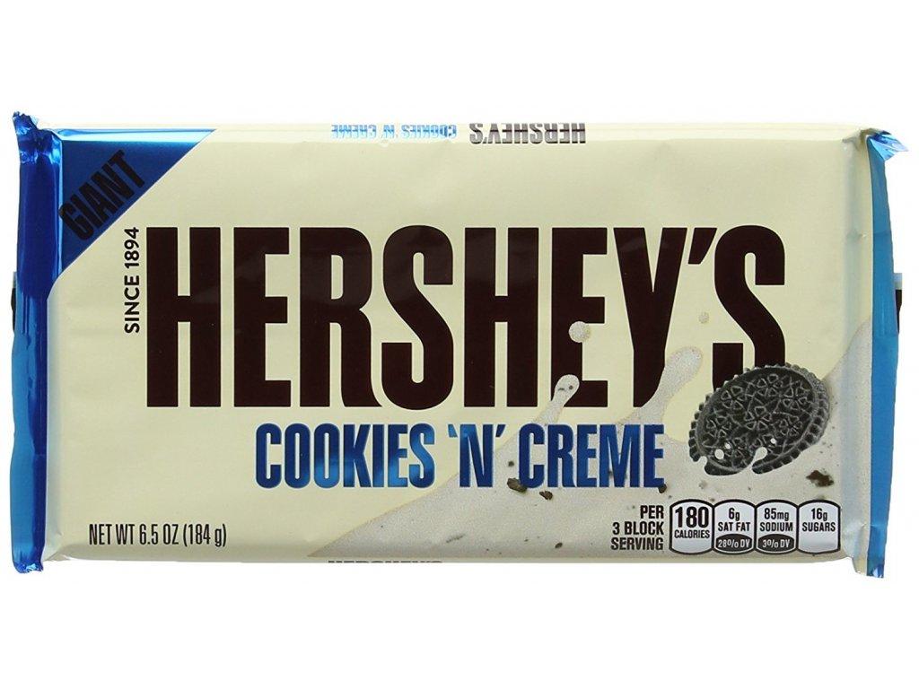 Hershey's Cookies 'n' Creme Giant Bar 184g