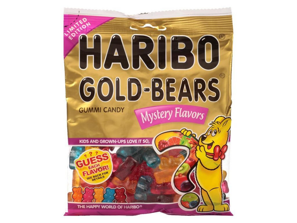 Haribo Gold Bears Mystery Flavour 113g