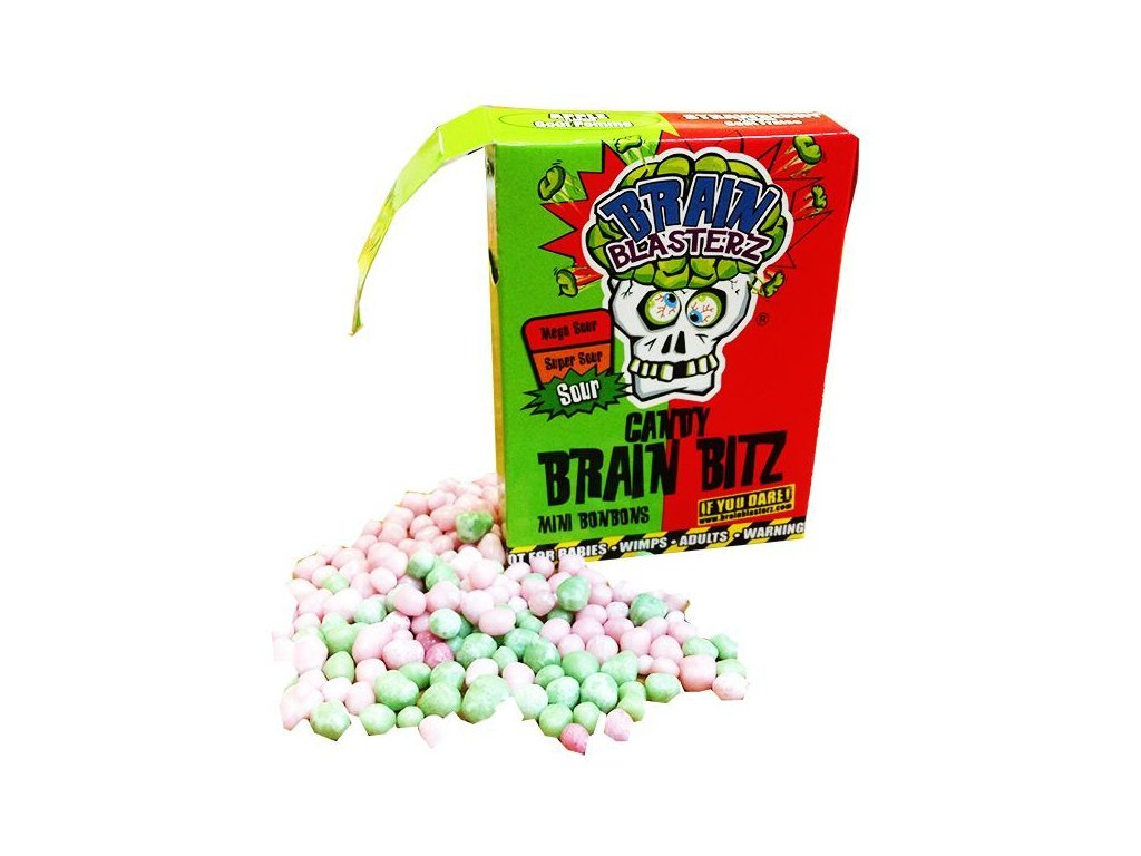 Brain Blasterz Brain Bitz Apple & Strawberry 45g