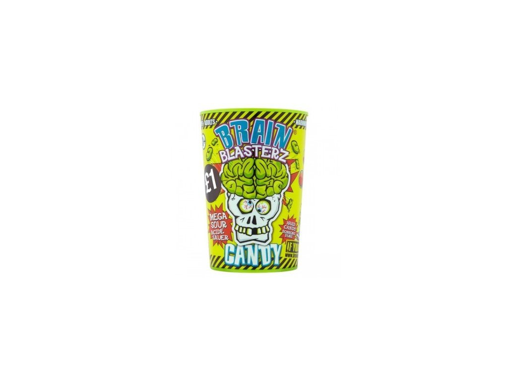 Brain Blasterz Sour Candy Container 48g
