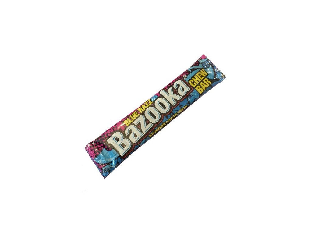 Bazooka Chew Bar Blue Razz 14g