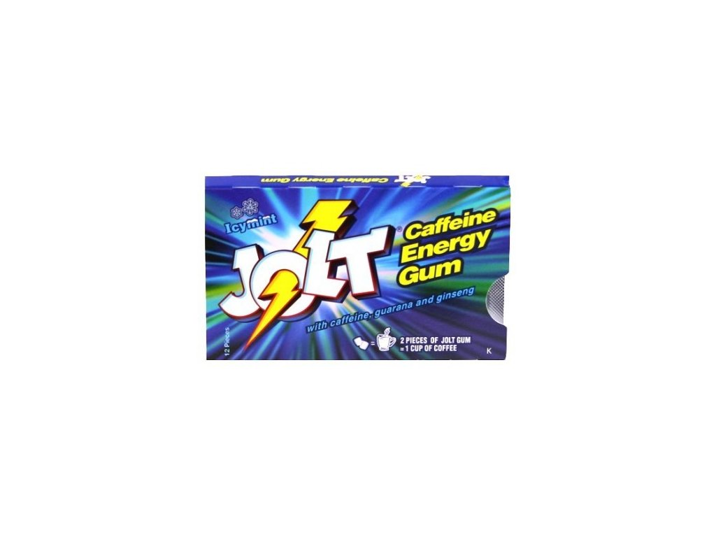 Jolt Energy Icy Mint Gum 33g