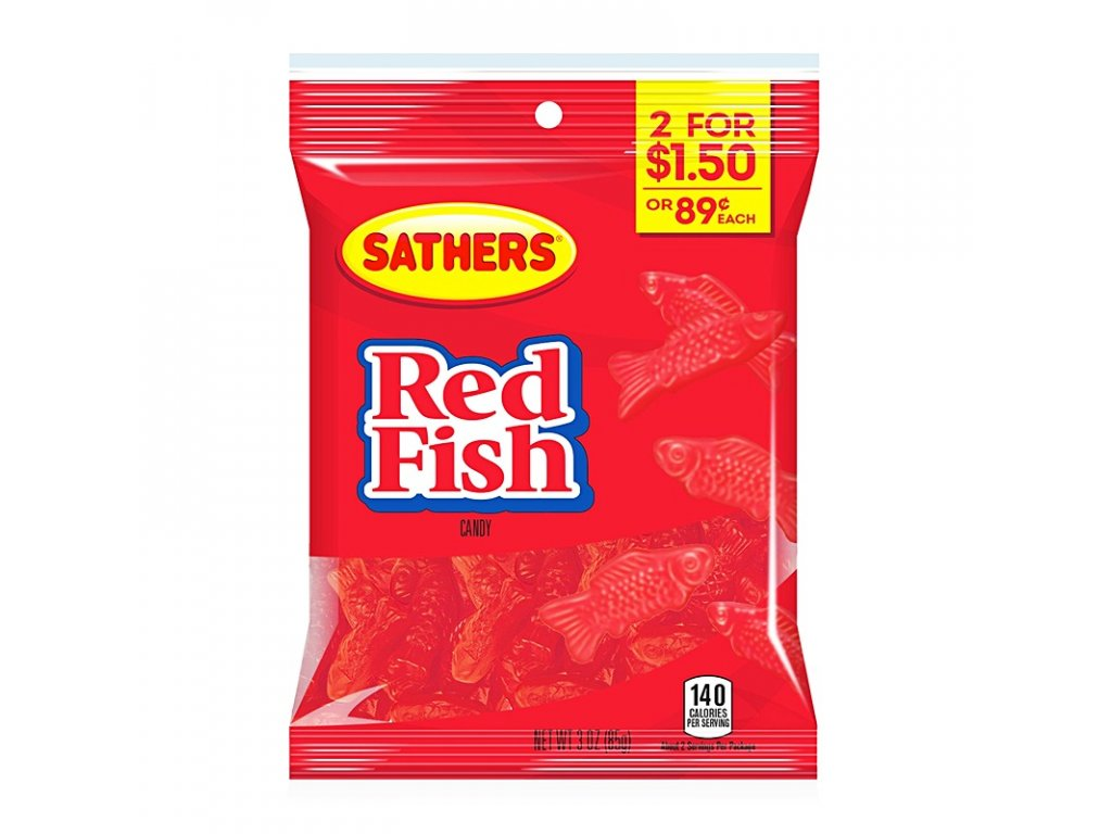 Sathers Red Fish 85g