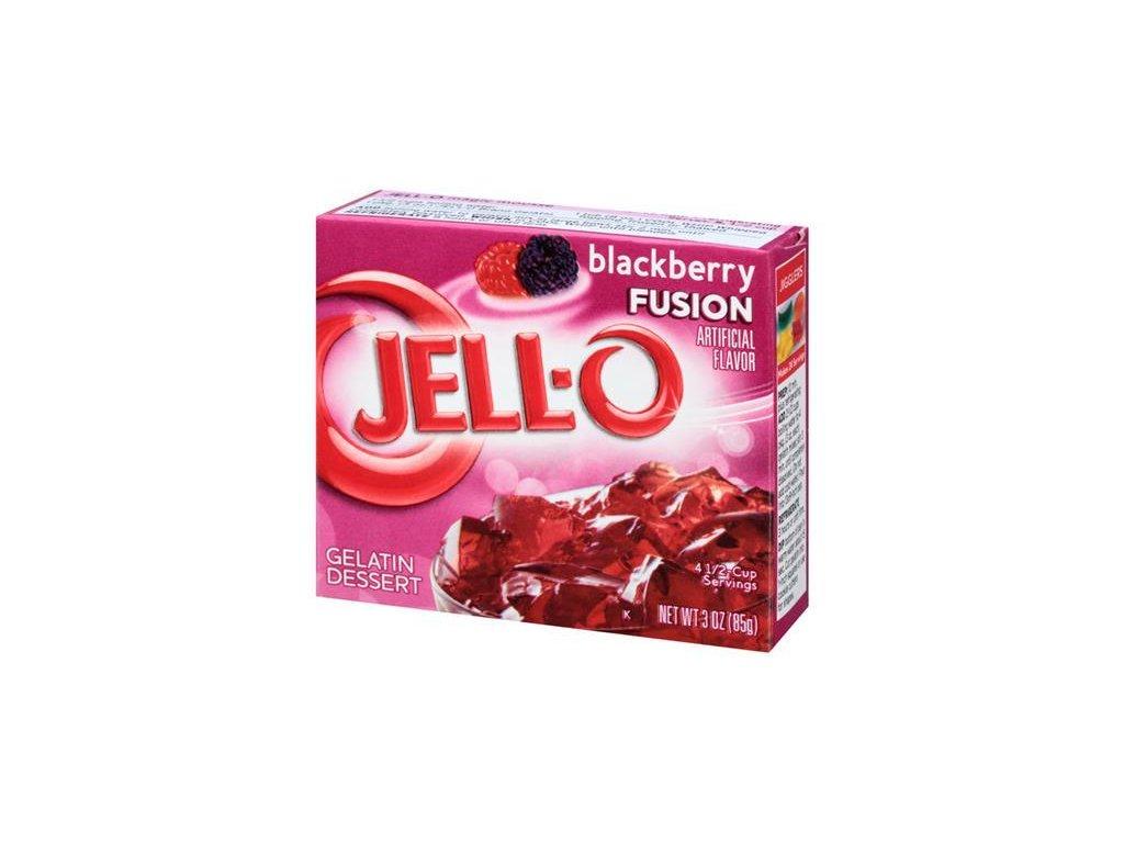 Jello Blackberry Fusion 85g