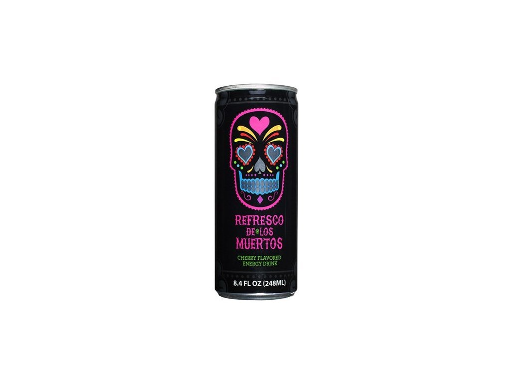 Refresco De Los Muertos Energy Drink 248ml