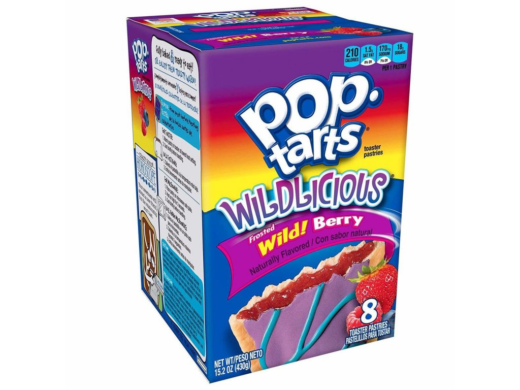 Pop-Tarts Wildlicious Frosted Wild Berry 430g
