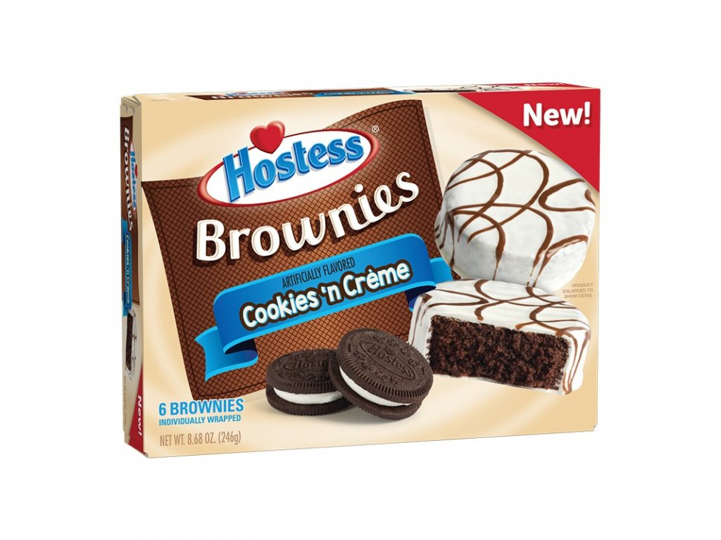 Hostess Cookies 'n Creme Brownies 246g