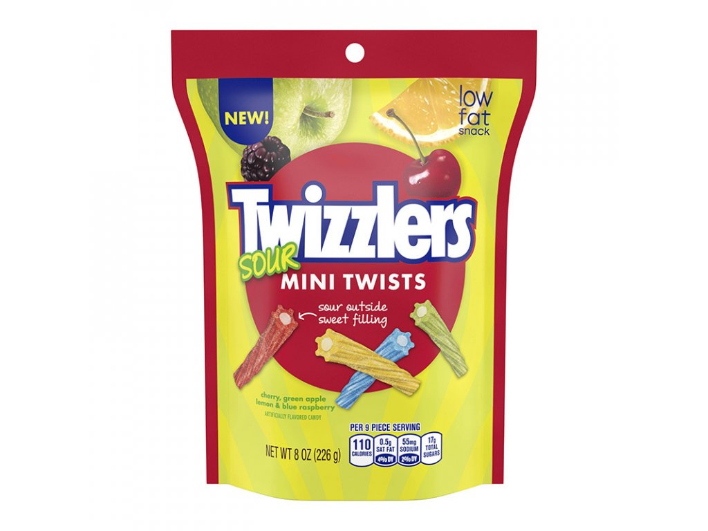 Twizzlers Sour Mini Twists 226g