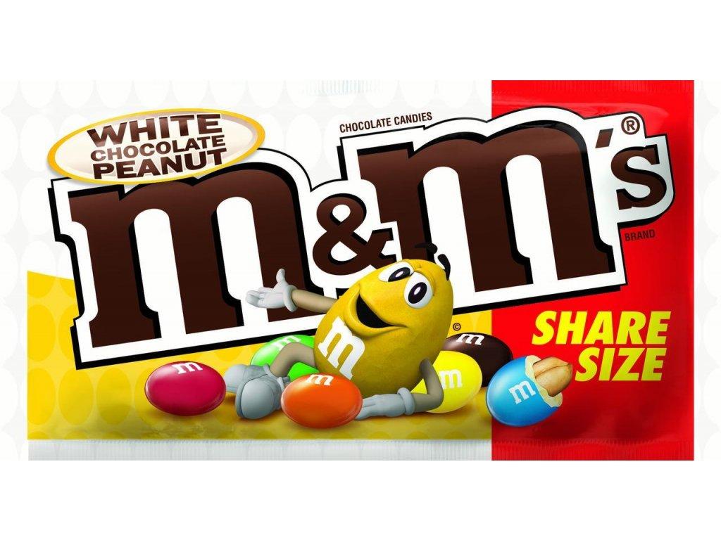 M&M's White Chocolate Peanut Share Size 79,4g