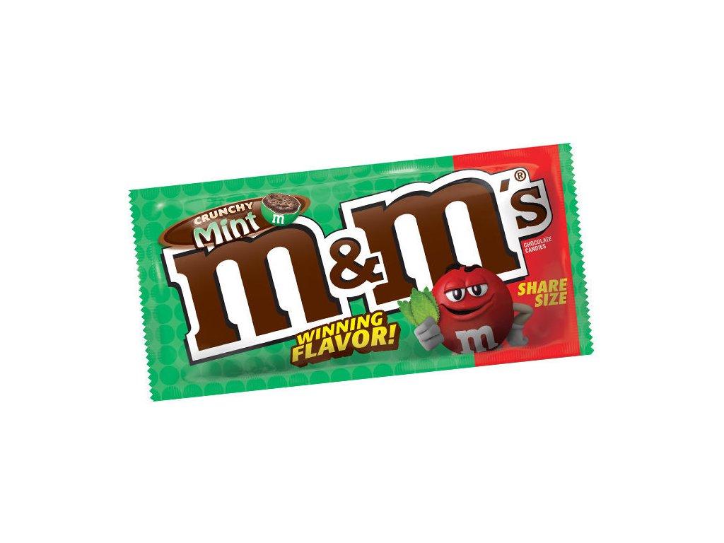 M&M's Crunchy Mint Share Size 80,2g