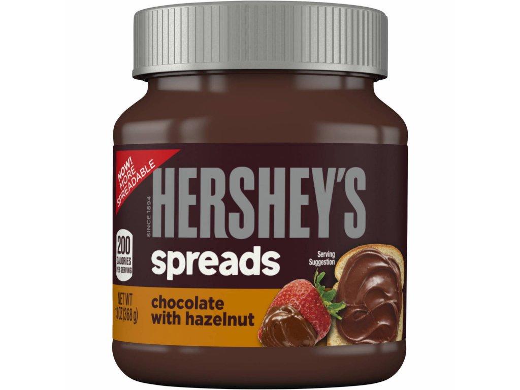 Hershey's Chocolate wit Hanzelnut Spread 371g