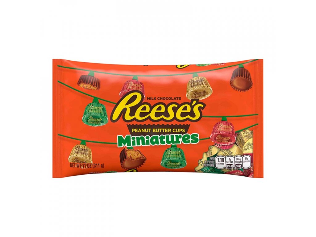 Reese's Xmas Peanut Butter Cup Miniatures 311g