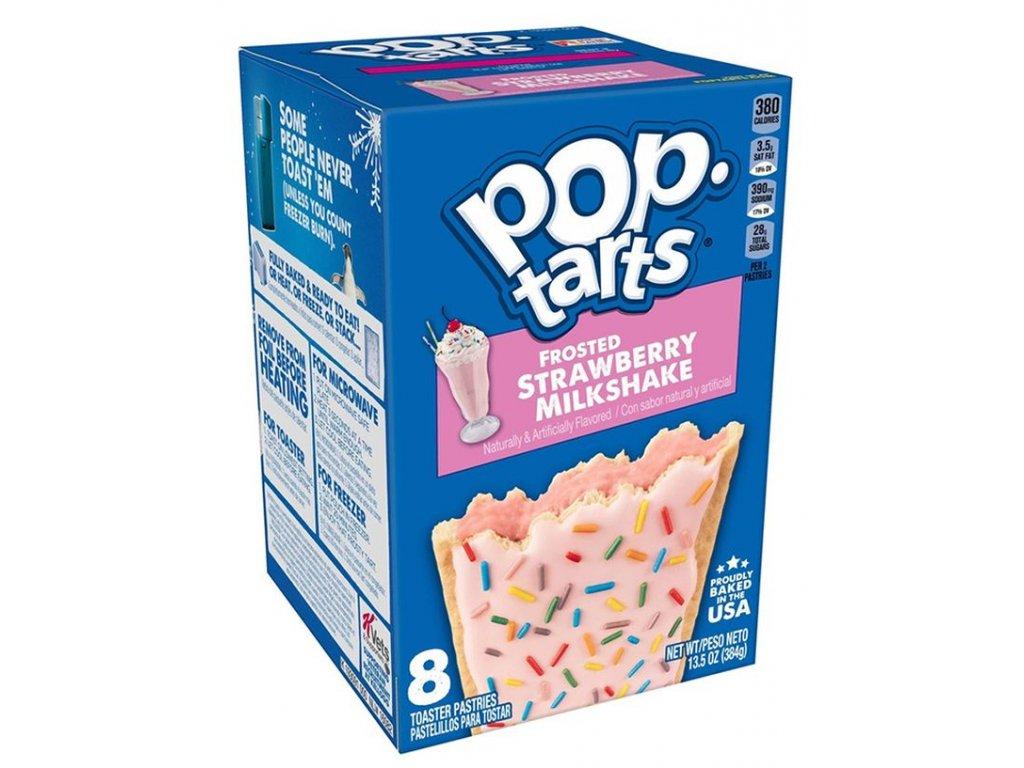 Pop Tarts Frosted Strawberry Milkshake 384g
