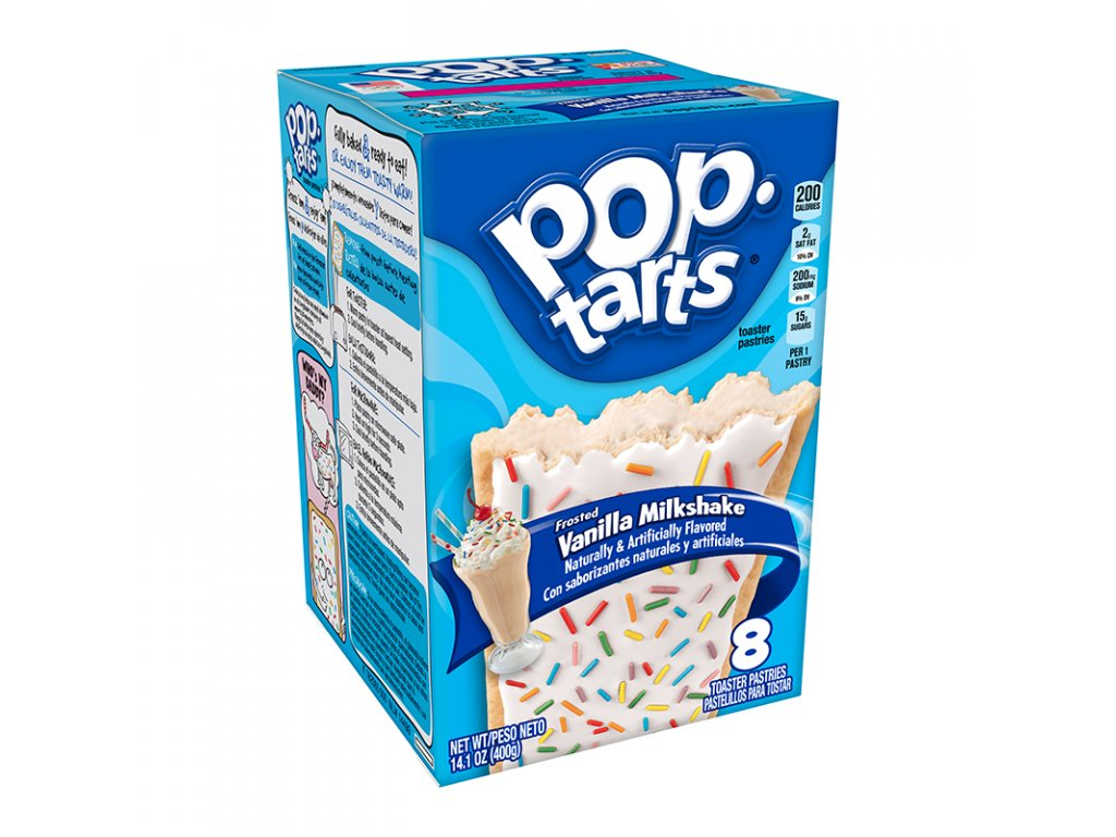 pop tarts vanilla