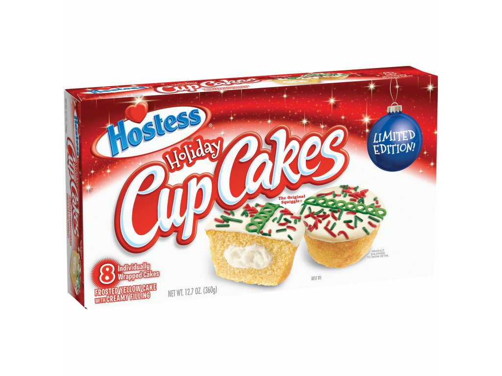 hostess holiday cupcakes