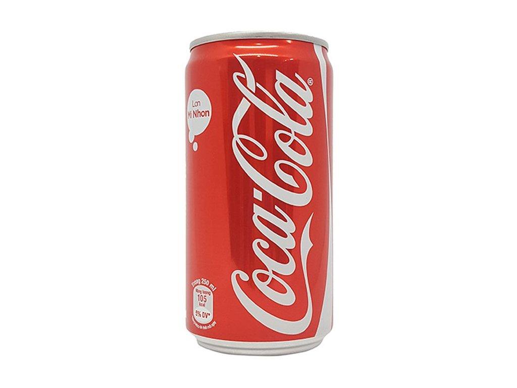coca sleek 250ml