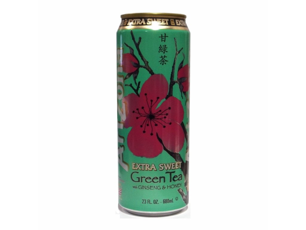 Arizona Extra Sweet Green Tea with Ginseng and Honey 680ml