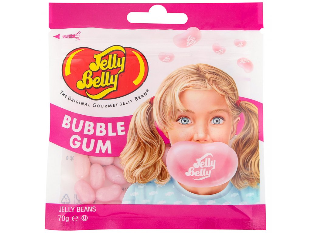 Jelly Belly Jelly Beans Bubble Gum 70g
