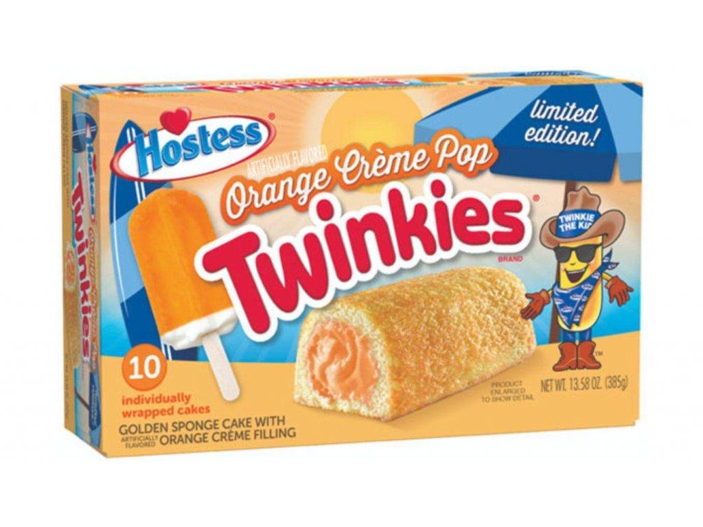 Hostess Orange Creme Pop Twinkies 385g