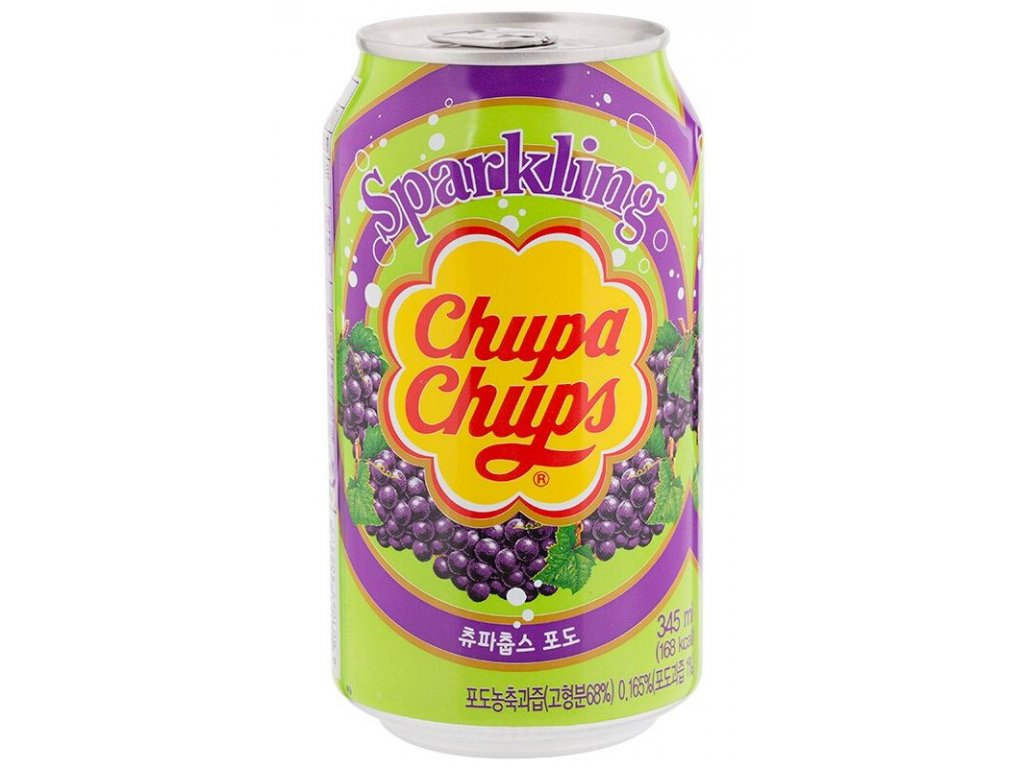 Chupa Chups Grape Soda 345ml