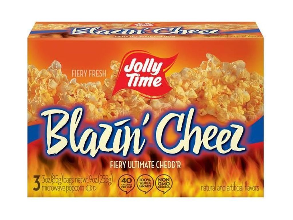 Jolly Time Blazin' Cheez 3pack 255g