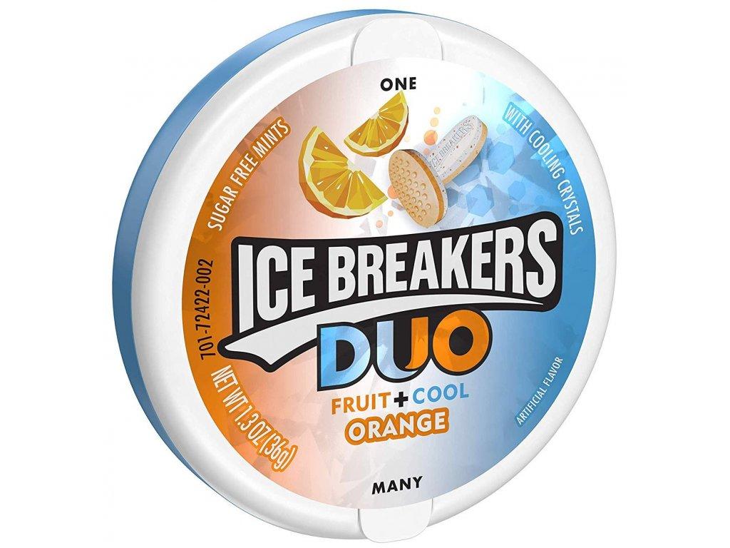 Ice Breakers DUO Orange Mints 36g