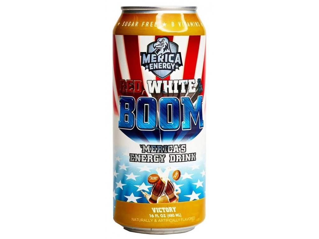 'Merica Energy Red White & Boom Victory 480ml