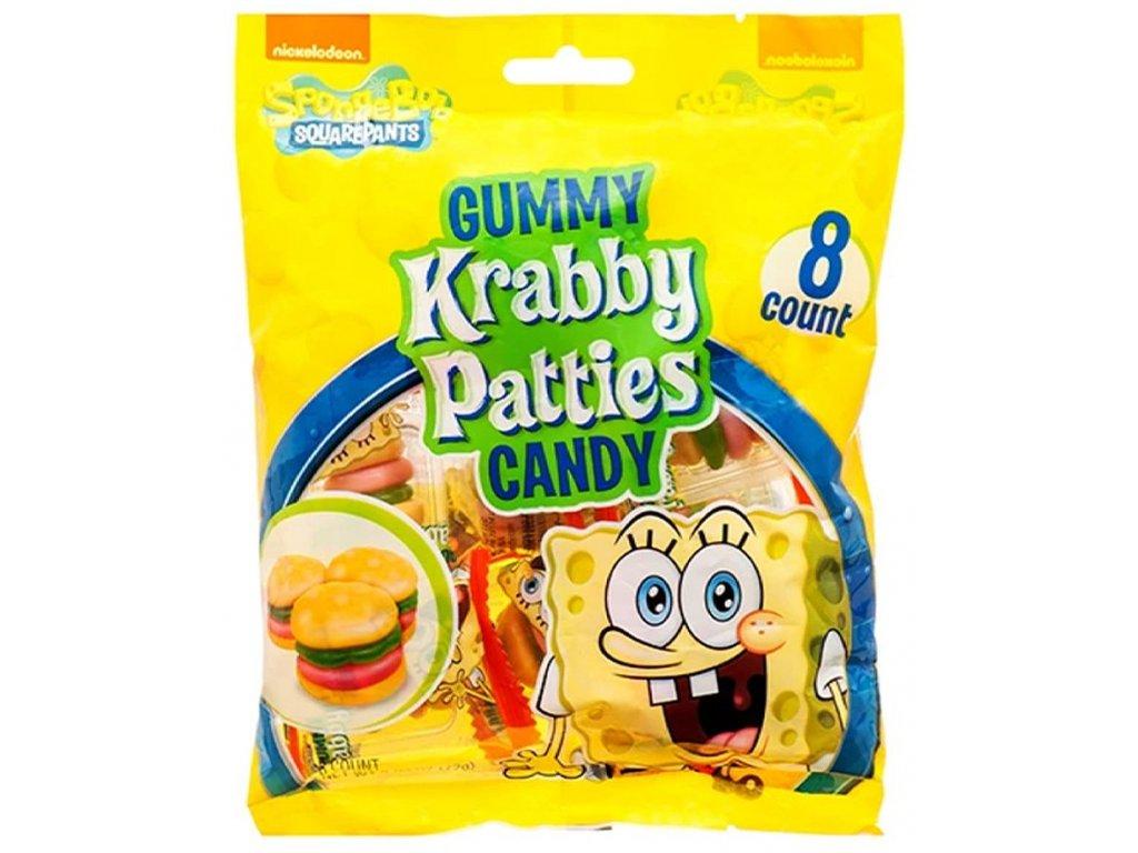 Spongebob Squarepants Gummy Krabby Patties Bag 72g