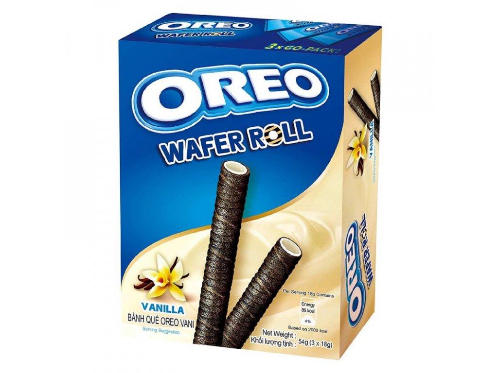 Oreo Vanilla Wafer Rolls 54g
