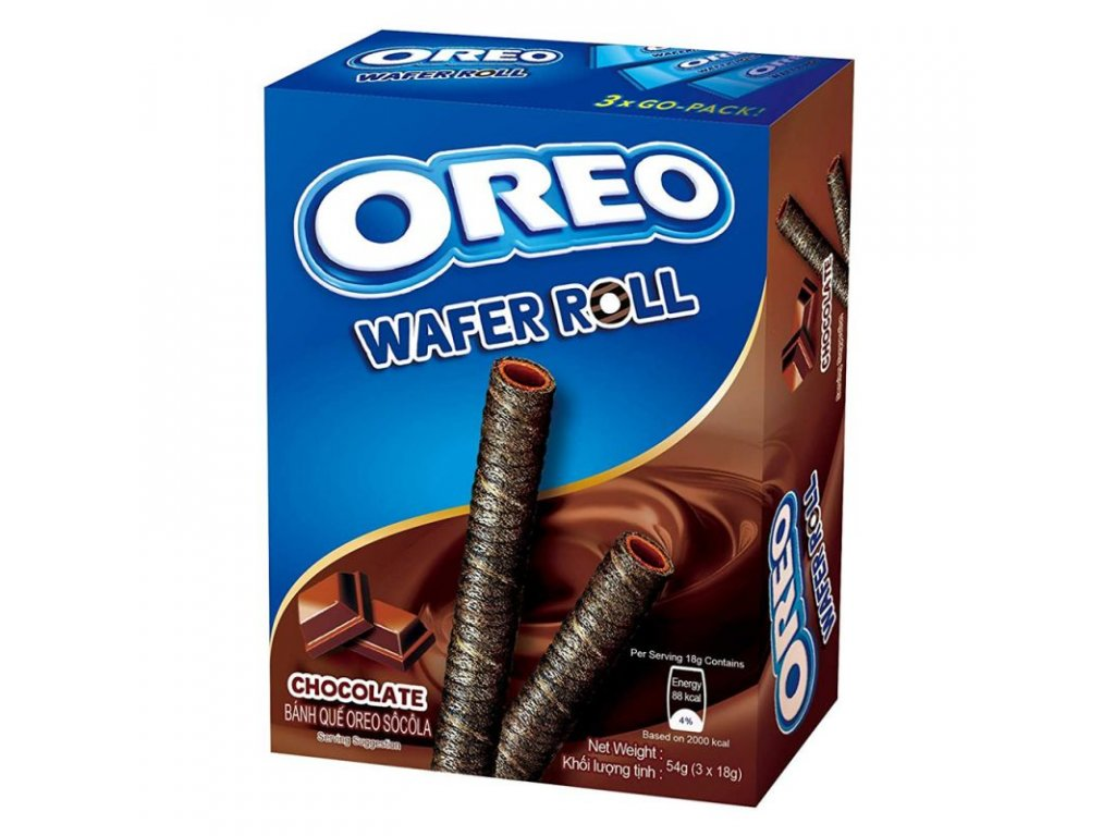 Oreo Chocolate Wafer Rolls 54g